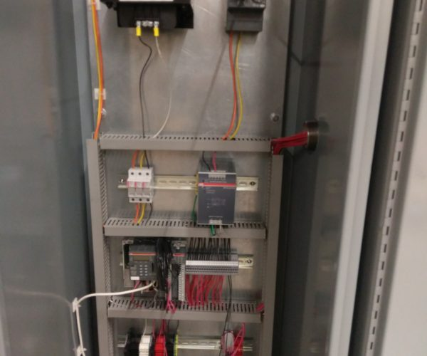 Control Cabinet Inside Controls